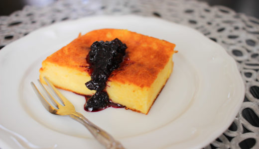 焼いたら冷蔵庫で一晩冷やすだけ!簡単ヨーグルトケーキ